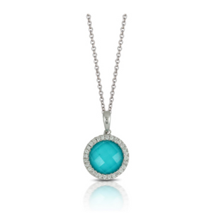St. Barths Turquoise Necklace