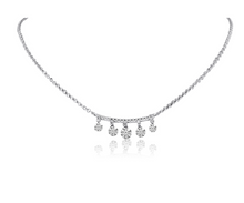 Load image into Gallery viewer, Diamond Bar 5 Dashing Diamond Necklace