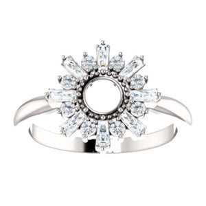 Sundial Diamond Ring