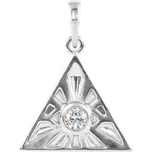 Load image into Gallery viewer, Eye of Providence Charm