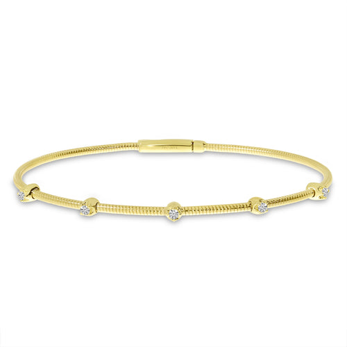Diamond Flex Station Bracelet