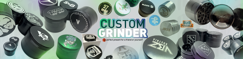Custom Grinder with your Logo