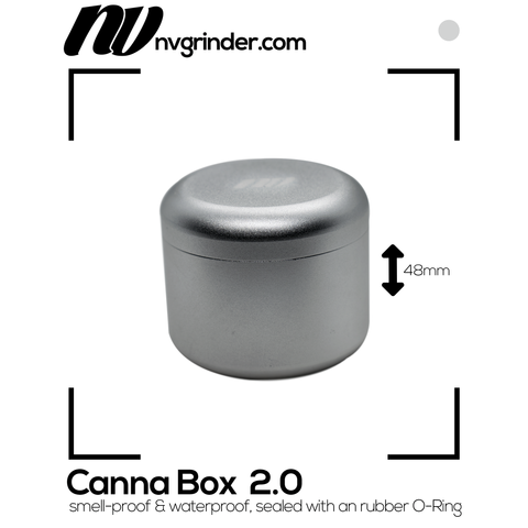 Canna Box 2.0 - smell-proof - Ø55mm