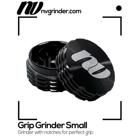 Grip Grinder Small Black - 2-piece - Ø40mm