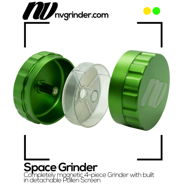 Space Grinder - 4-piece - Ø64mm