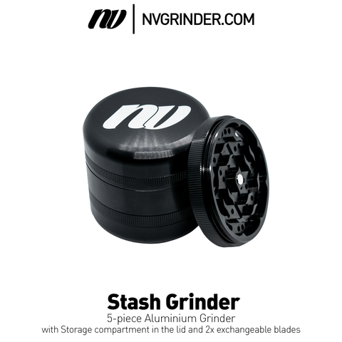 Stash Grinder  - 5-piece - Ø63mm
