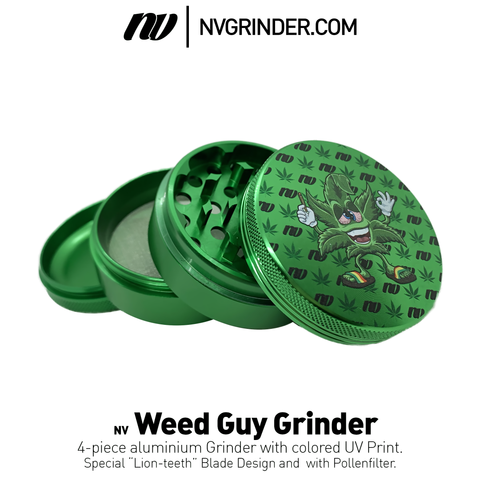 Weed Guy Grinder - 4-piece - Ø64mm