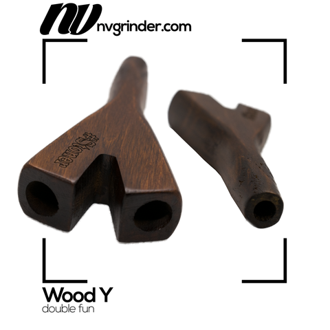 Wood Y - double fun