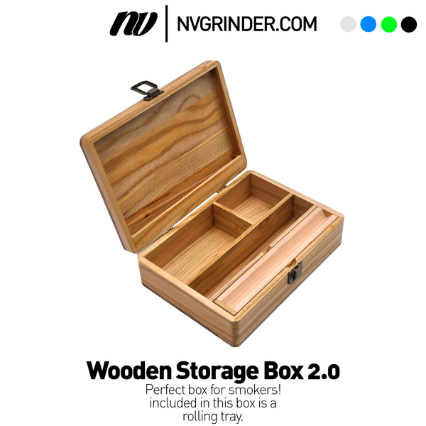 Wooden Storage Box 2.0