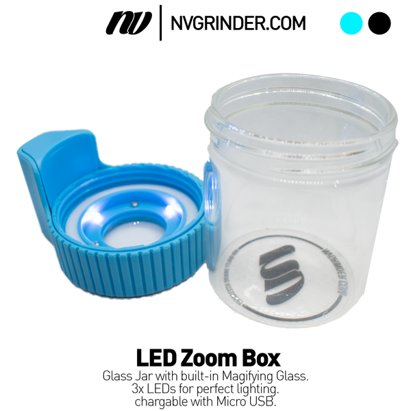 Zoom Box with LED Light - smell proof