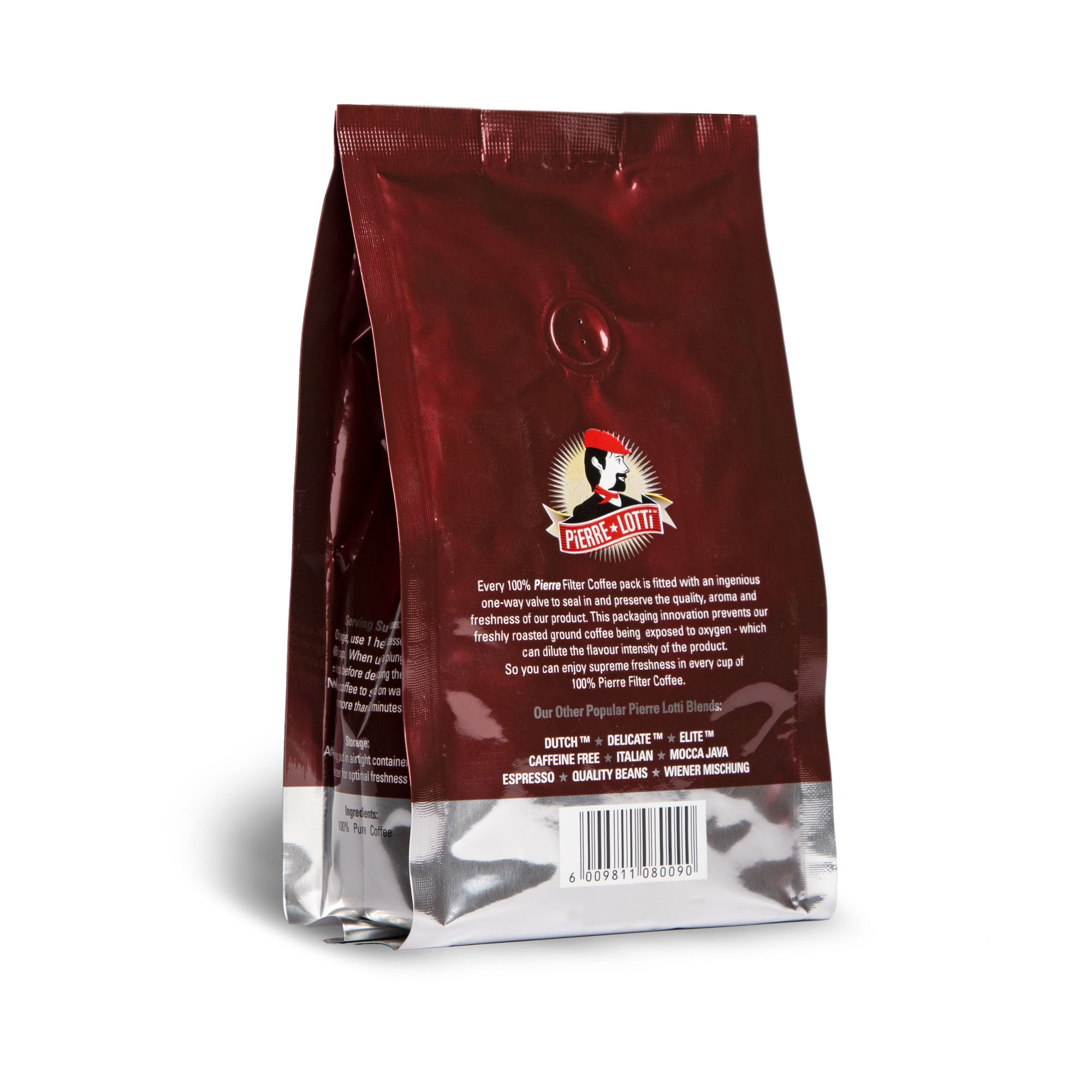 Mocca Java Blend Beans - Pierre Lotti Coffee