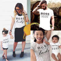 Summer Family Matching Outfits Mommy Daddy Kid Son Baby T-Shirt - MeAndMommy
