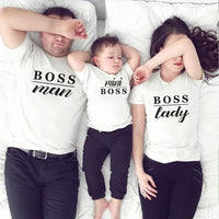 1 Pc Gourd doll Family Matching Outfits Mommy Daddy Kid T-Shirts - MeAndMommy