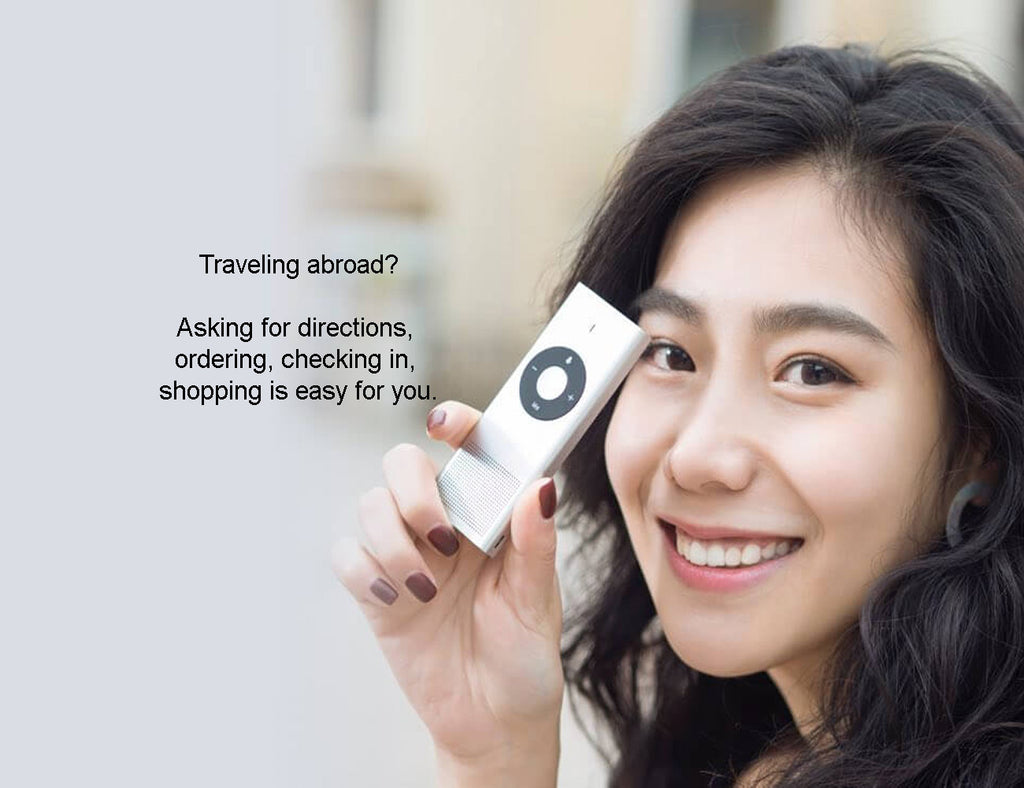 Smart two-way multi-language translator ili