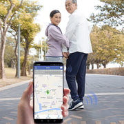 GPS Positioned shoes for elderly parents - AI LIFE HOLDINGS