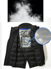 Chargeable heated warm jacket Pro - AI LIFE HOLDINGS