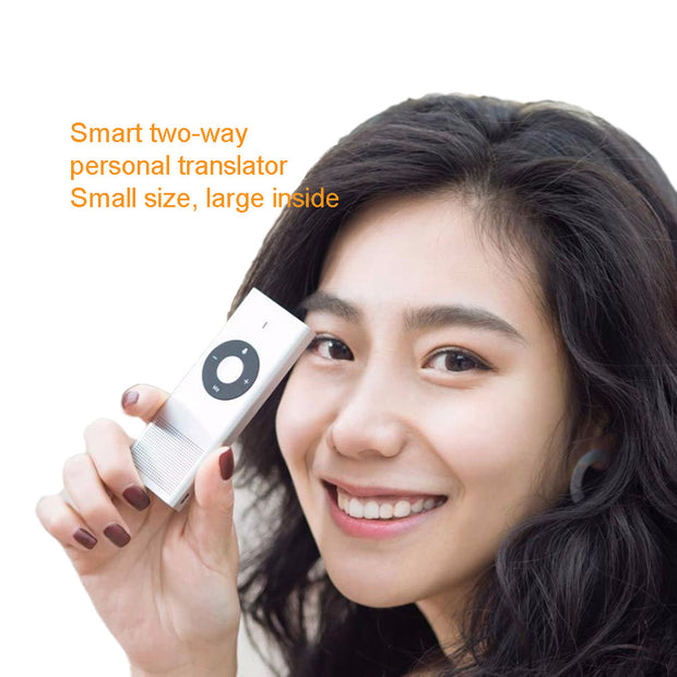 Smart two-way multi-language translator - AI LIFE HOLDINGS