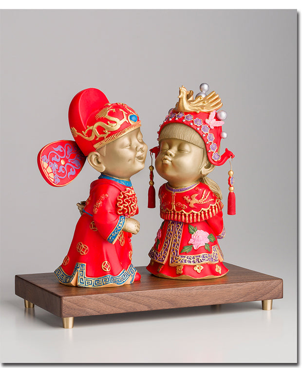 Traditional Chinese Bride&Groom - AI LIFE HOLDINGS