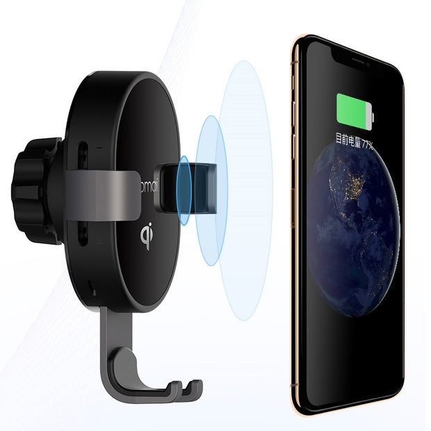 Qi Fast Wireless Charging Phone Holder Car Mount - AI LIFE HOLDINGS