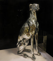 Textured Chrome Greyhound - AI LIFE HOLDINGS