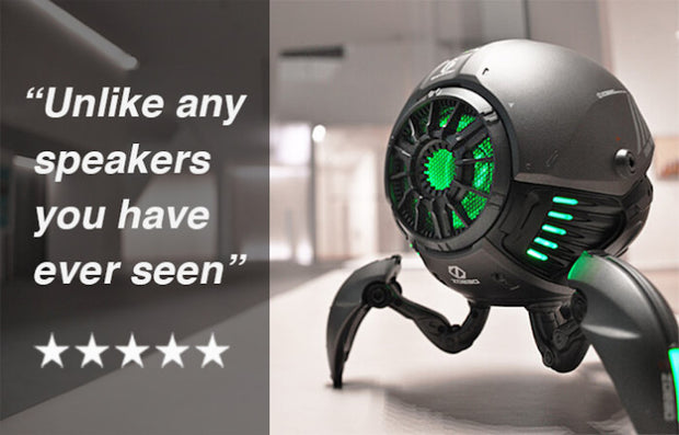 Crazy Cool Speaker with Ultimate Sound / Gravastar - AI LIFE HOLDINGS