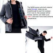 Extreme Temperature NASA Spacesuit Tech Aerogel Warm Jacket 3 in 1 OutdoorPro P1 - AI LIFE HOLDINGS