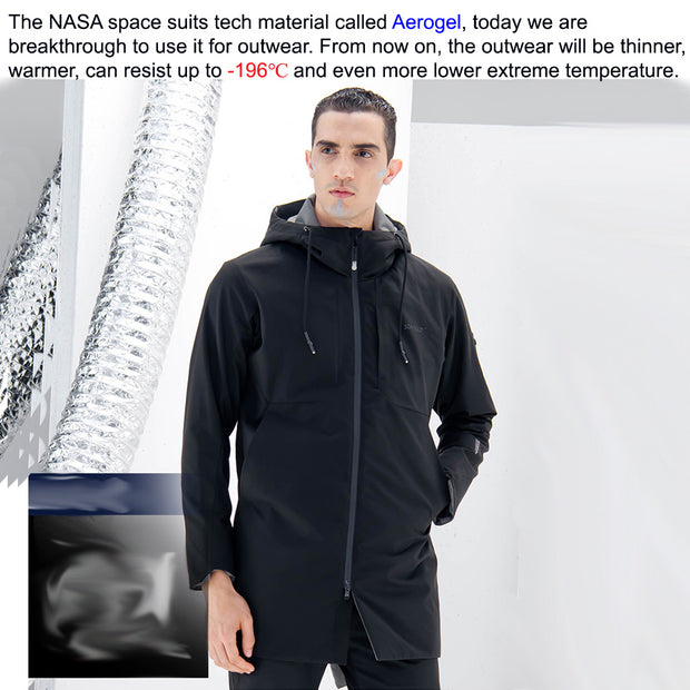 -40℃ NASA Spacesuit Tech Aerogel Warm Jacket Outdoor O2 - AI LIFE HOLDINGS