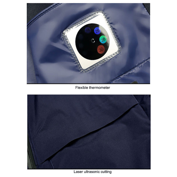 -10℃ NASA Spacesuit Tech Aerogel Warm Jacket Formal F3 - AI LIFE HOLDINGS