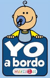 Sticker auto : Yo a bordo niñito