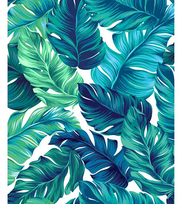 Tropical Leaves Paint By Numbers Goodnessfind See more ideas about tropical, tropical leaves, leaves. tropical leaves paint by numbers
