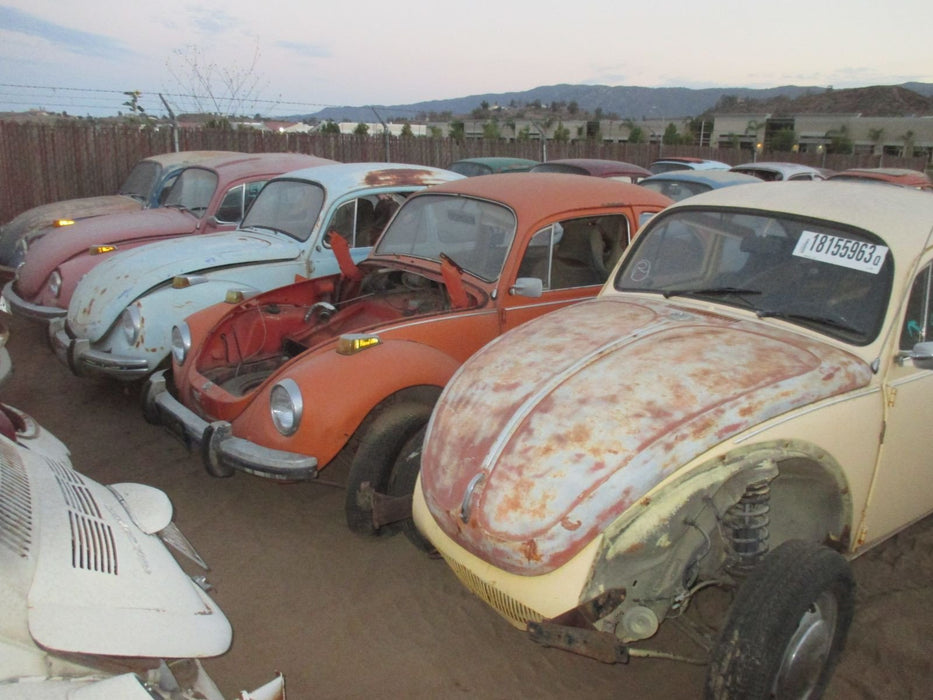 VW Vintage Classic Bugs and Super Beetles for Sale.