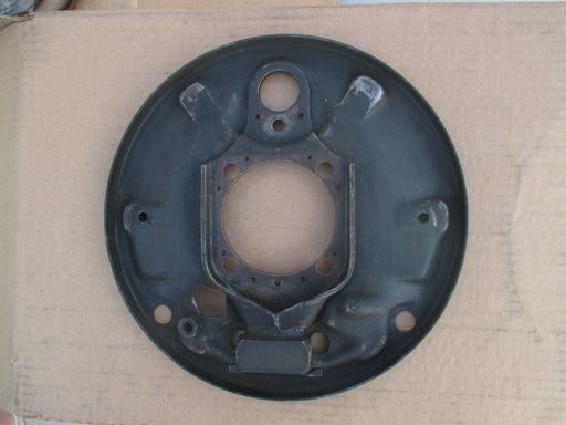 Backing Plate, rear left, without hardware- Bug, Super Beetle, Ghia, Thing