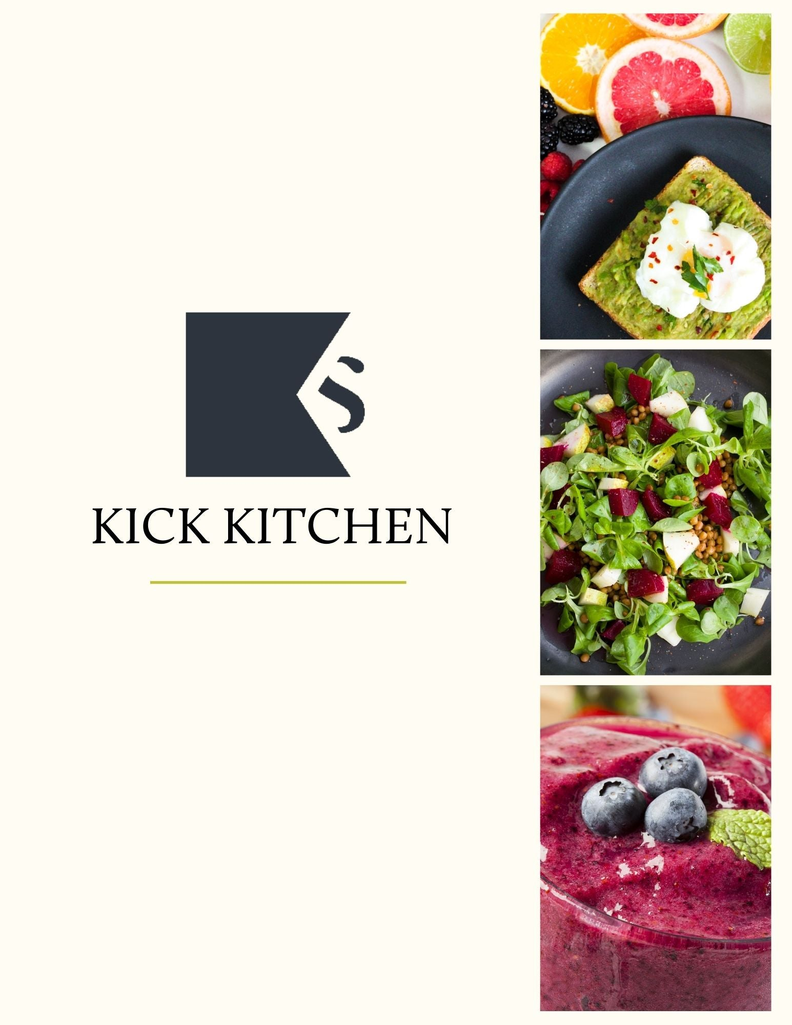 Seven-Day KICK Kitchen Meal Plan