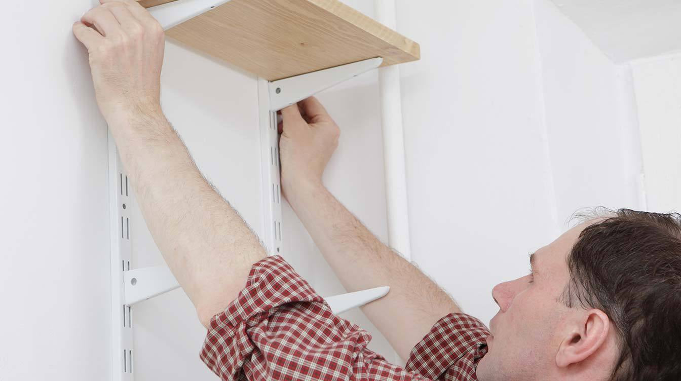 How to Install Shelves in Any Wall in 3 Easy Steps-home improvement tips