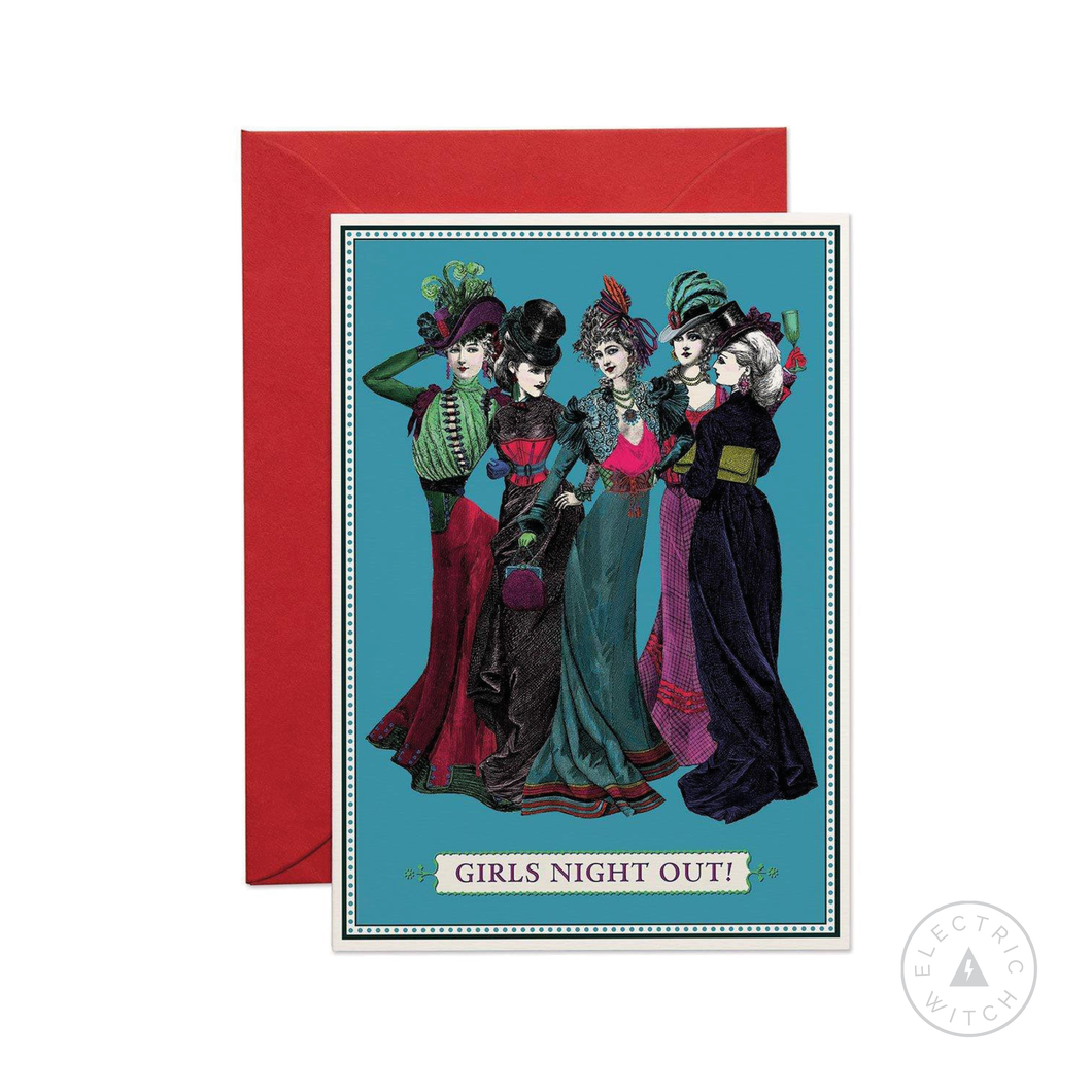 Girls Night Out Greetings Card