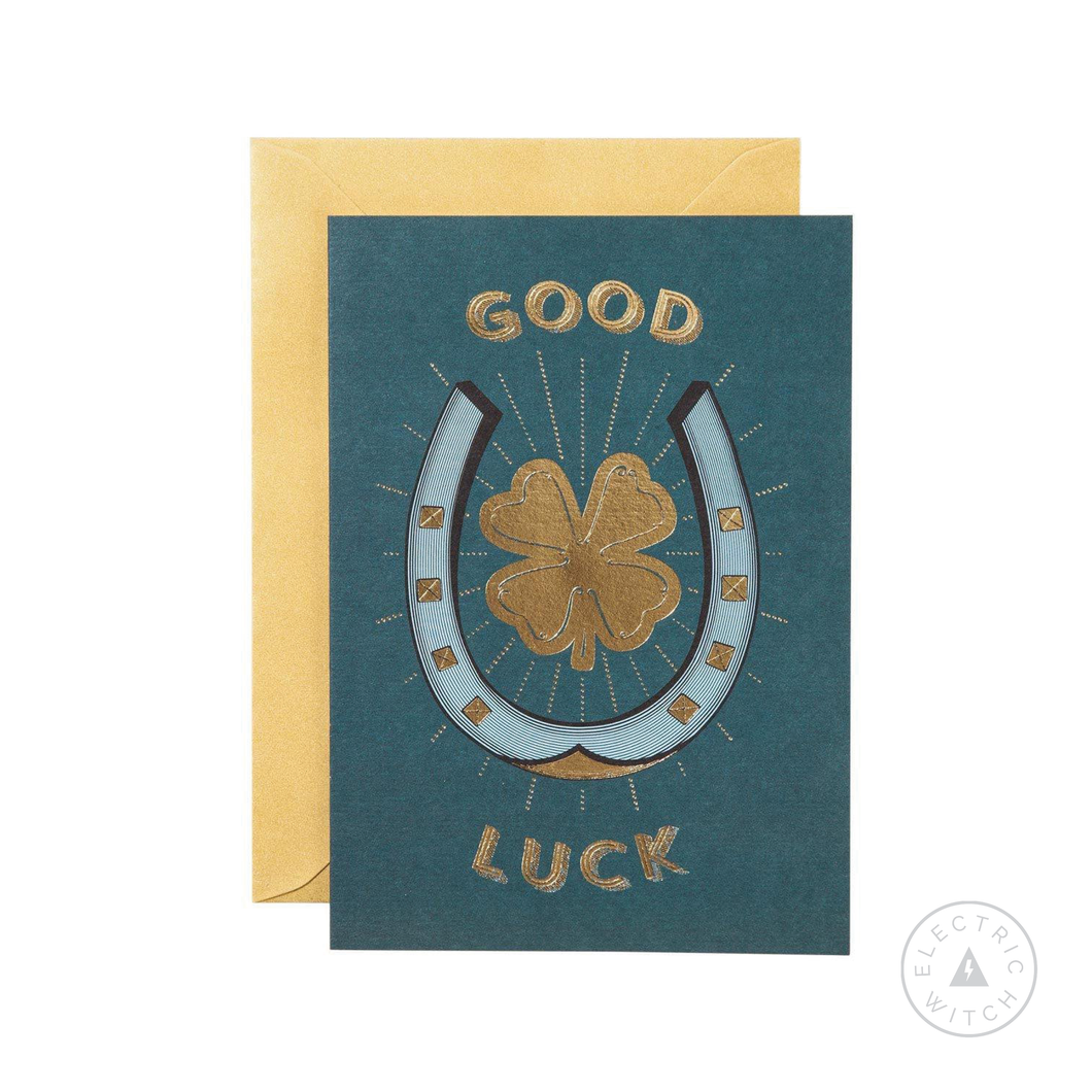 Good Luck Greetings Card