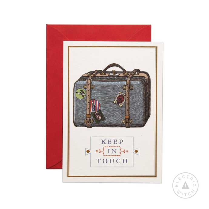 Keep in Touch Greetings Card