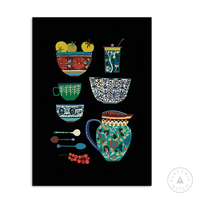 Kitchen Study Art Print