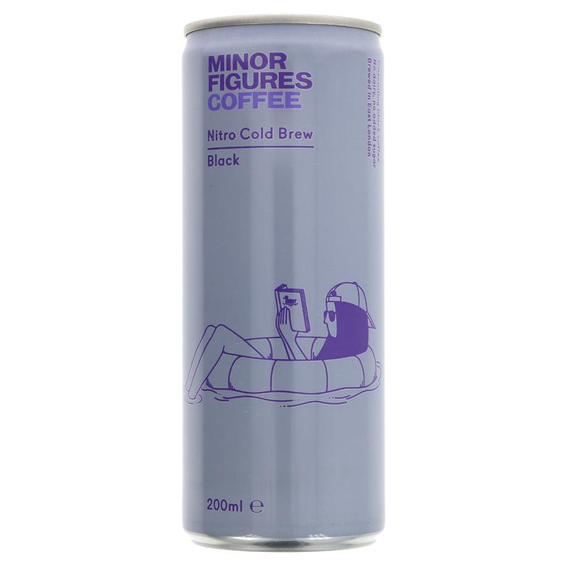 Minor Figures Black Coffee Drink 200ml