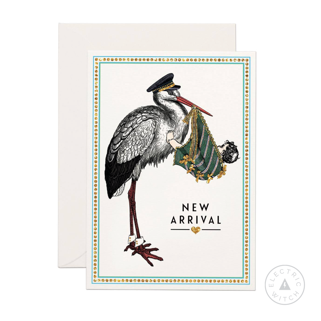 New Arrival Greetings Card (Mini size)