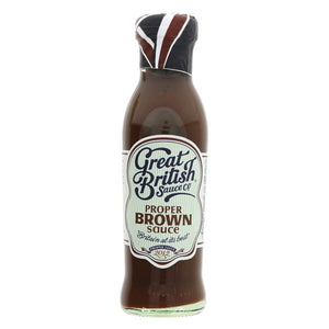 Great British Sauce Co Proper Brown Sauce 305g