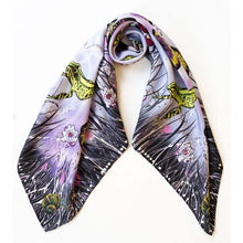 Load image into Gallery viewer, Rainy Day Silk Scarf