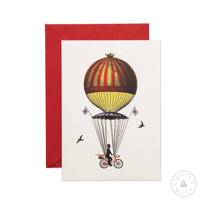 Ride Above It Greetings Card