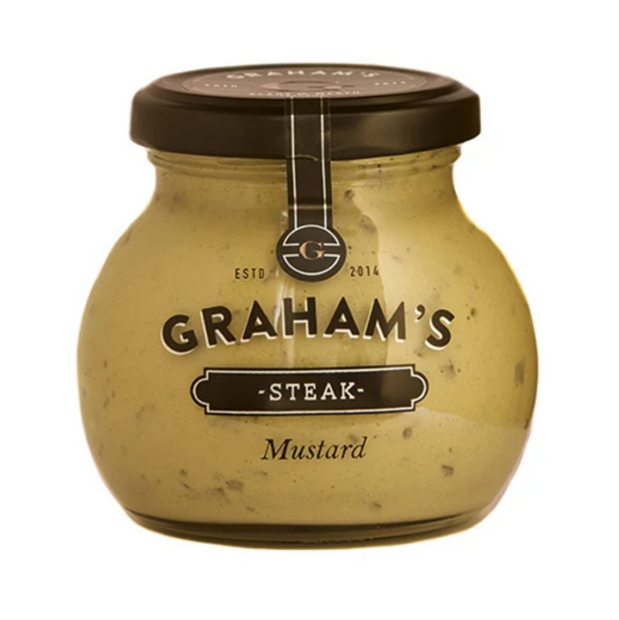 Graham's Steak Mustard 210g