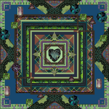 Load image into Gallery viewer, Heart of Speyside Vegan Silk Scarf