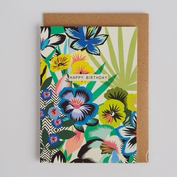 Tropicalia Birthday Card