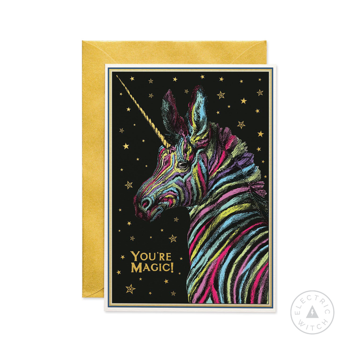 You're Magic Greetings Card