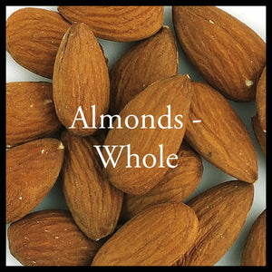 Whole Almonds 125g