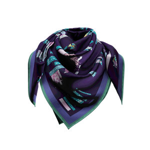 NSPCC Charity Scarf in vegan silk