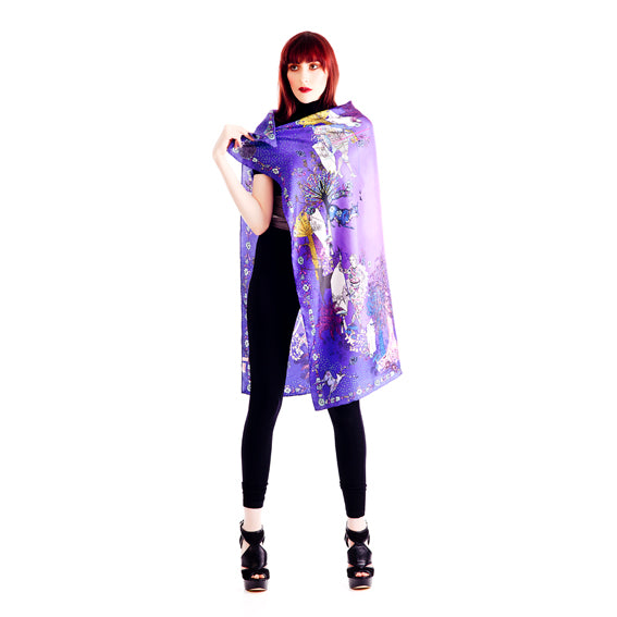 Moonlight Silk Scarf